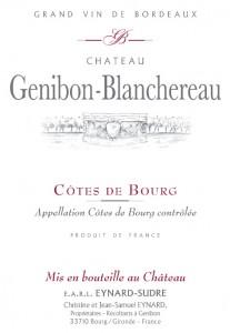 Château Genibon Blanchereau