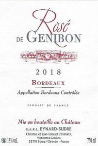 Rosé de Genibon